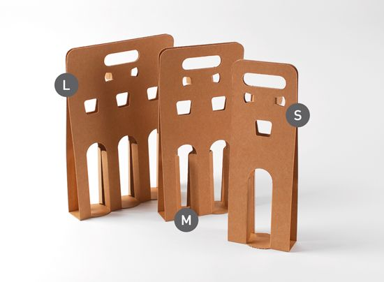 Do this for mason jars? Cardboard beer bottle carrier - SelfPackaging