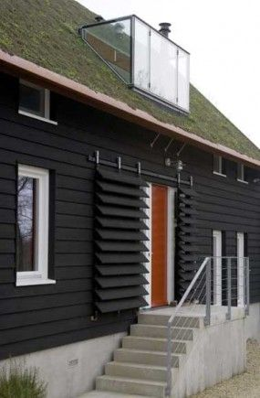 Ecologisch dijkhuis met dampopen gevels - Architectuur.nl