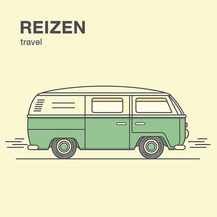 from @anastasiailcov -  Day 067: Reizen [rɛizə]  Looking forward to going on a short trip this weekend  #the100dayproject #100DaysOfLearningDutch #dutch #travel #reizen #bus #vintage #illustration #illustrator #adobeillustrator #illustree #graphicdesigncentral #creativesnack #genecreative #visforvector #simplycooldesign #vaniladesign #gfxmob #illustrationoftheday #thedesignfix #vectorart #vectorillustration #flatvector #flatdesign #icon #icondesign #graphicdesign #graphicdesigner
