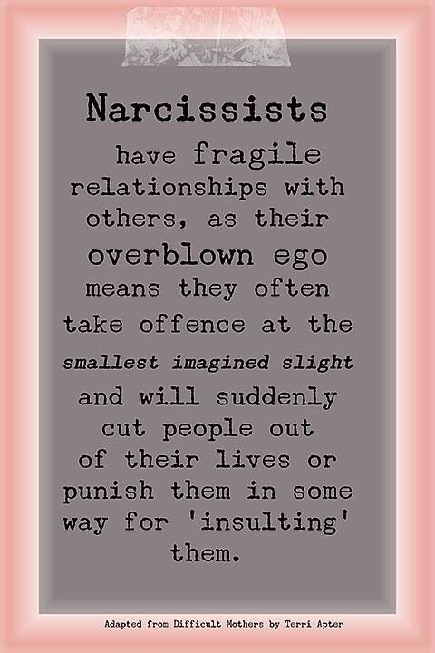 Narcissistic Traits and Behavior