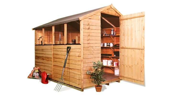 The BillyOh 20 Range - Cheap Wooden Sheds - Garden Buildings Direct 8x6 184.99 inc floor