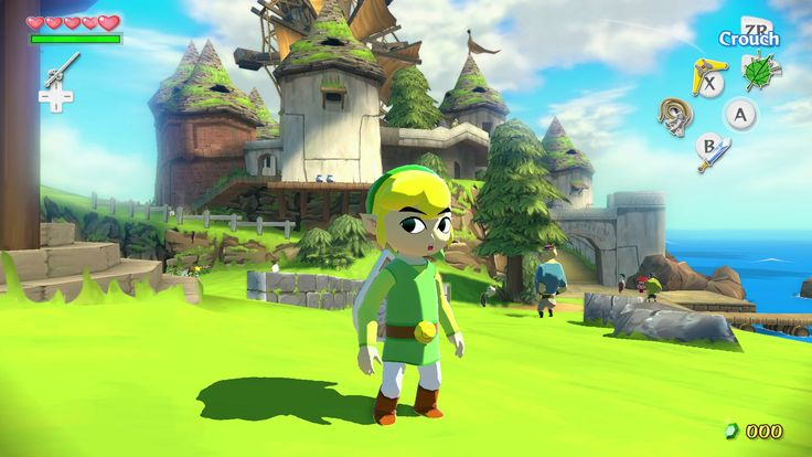 wind waker gameplay - Google Search
