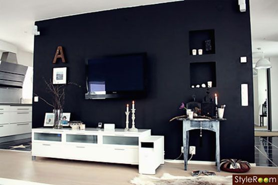 Paint Wall Behind Tv Awesome Idea Emily Henderson Tv