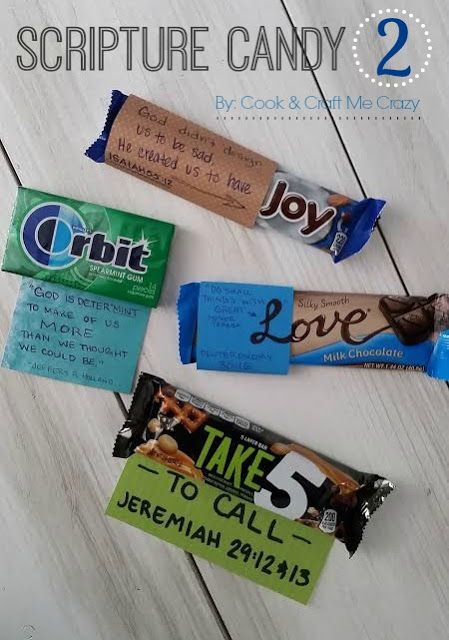Girls Camp Secret Sister Candy Gifts!