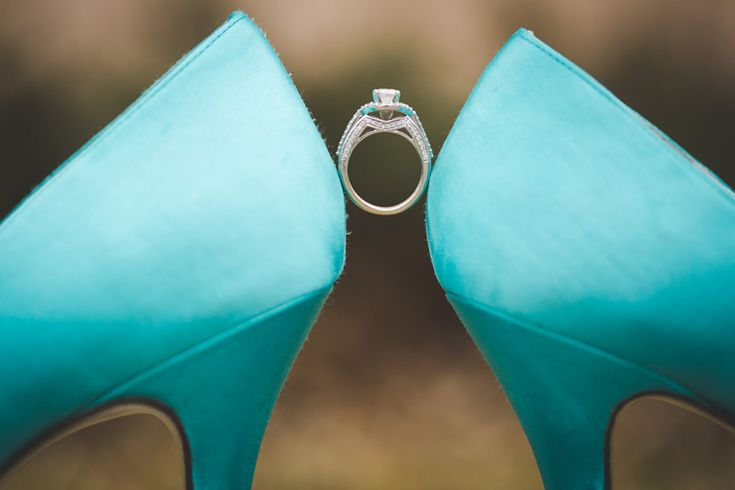 Cool shot featuring the bride's ring and her ring by Brian Bossany Photography