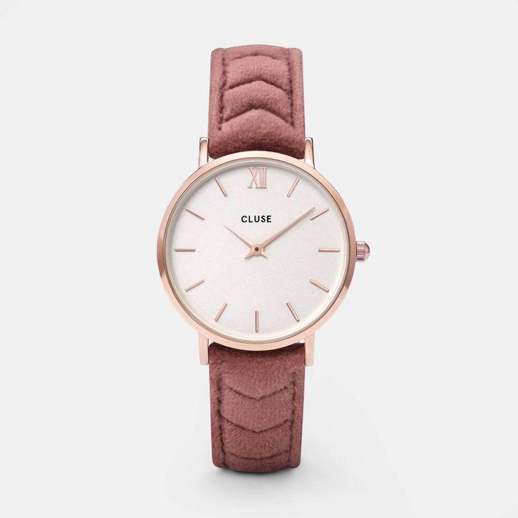 CLUSE x Negin Minuit Rose Gold Mesh/Pink Velvet Gift Box CLG006 | CLUSE Official Store