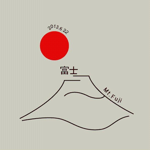 Mt. Fuji. Unknown author.