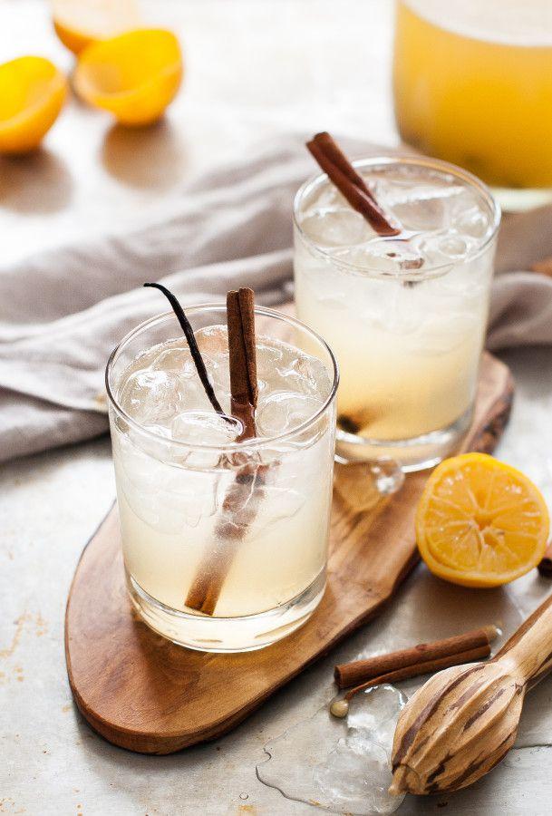WINTER LEMONADE: Meyer Lemon Vanilla Spice