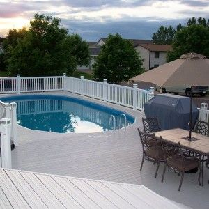 Diy Above Ground Pool Landscaping 289 best pools images on pinterest | ground pools, backyard ideas