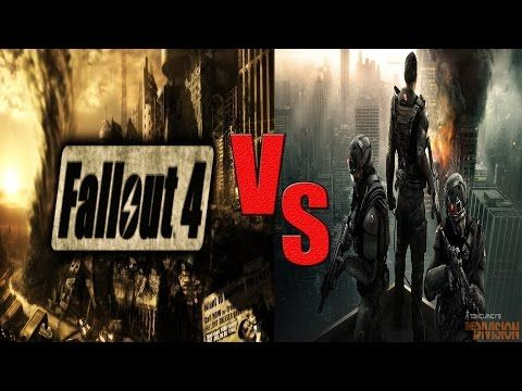 Tom Clancy's The Division Release Date - Fallout 4 Hype - YouTube