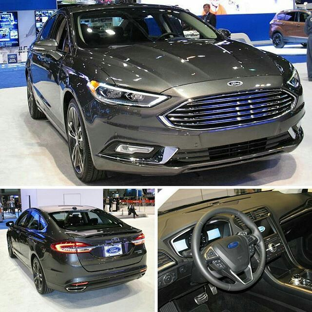 Best Of 2017 White ford Fusion