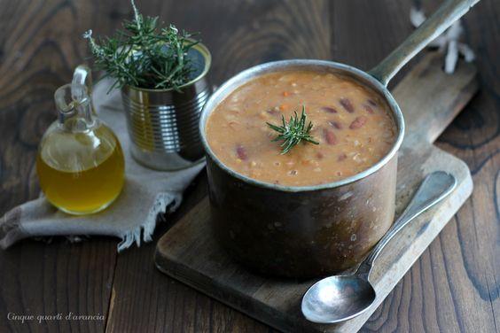 Zuppa+farro+e+fagioli