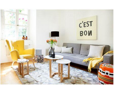 Die besten 25+ Sessel gelb Ideen auf Pinterest Senf wohnzimmer - wohnzimmer grau gelb