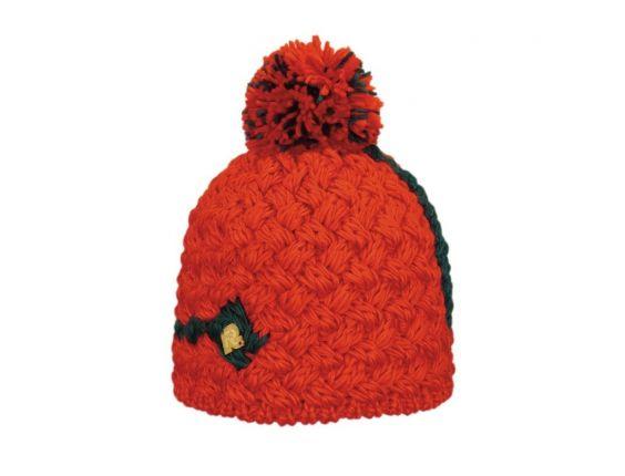 Bonnet Ice Rouge et Noir #bonnet #ski #rentree #rmountain