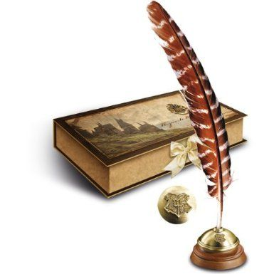 Hogwart's Writing Quill with Stand