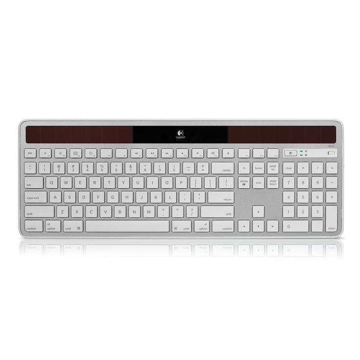 Logitech Wireless Solar Keyboard K750 - Apple Store (U.S.)