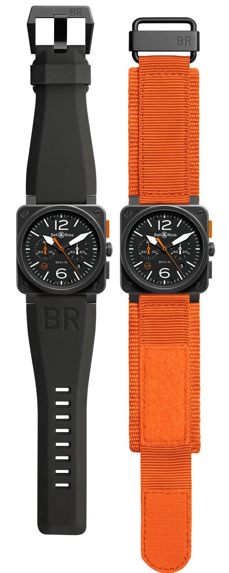 Bell&Ross BR03-94 Carbon Orange