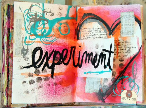 Donna Downey | Art journal pages - Pinterest {great examples of art journal pages} | Pinterest | Journal, Journaling and Art journaling