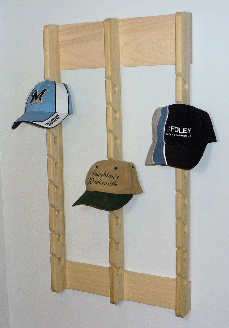 1000 ideas about baseball hat racks on pinterest hat