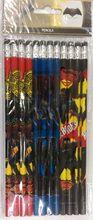 Batman Wooden Pencils Pack of 12- Dawn of Justice