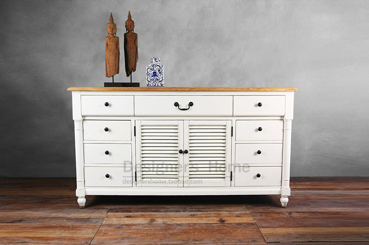 88 % off New export French country garden / do the old elm Sideboard / sideboards / foyer entrance-in Wood Cabinets from Furniture on Aliexpress.com | Alibaba Group