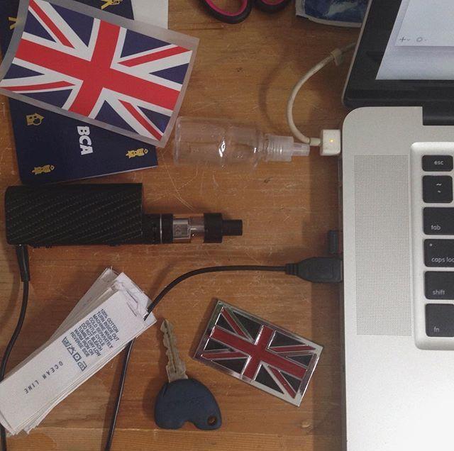 #british #vespa #macbook