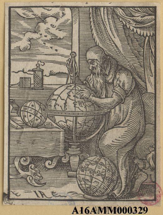 L'astronome de Jost Amman #astronomie #Estampe