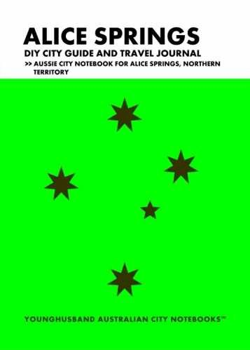 This Aussie City Notebook is designed to inspire listmakers and curators and travelers to create their own city guide and city biography in list form and to journal the Plonk! out of their time in the