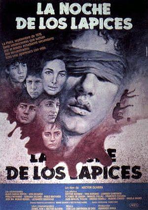 "Lanochedeloslapices.jpg 300×425 pixels ""La Noche de Los Lapices"" (1986) Directed by Hector Olivera Argentina 🇦🇷"