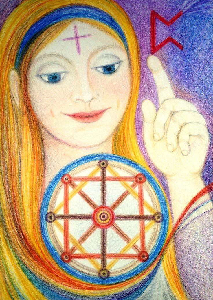 Priestess of Karma by Ivana Axman