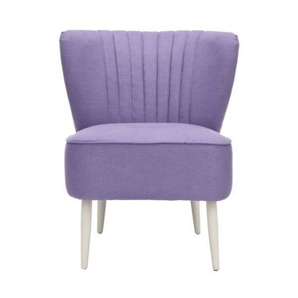 Safavieh MCR4548 Morgan Accent Chair Lavender Indoor Furniture Accent ($278) ❤ liked on Polyvore featuring home, furniture, chairs, accent chairs, accent, indoor furniture, lavender, safavieh, safavieh furniture and lavender accent chair