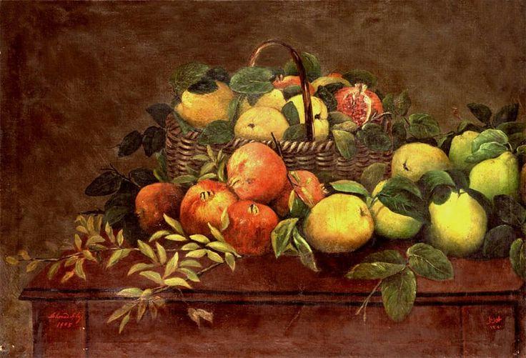 pomegranates and quinces - Şeker Ahmet Paşa