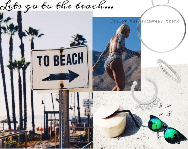 Beach wear inspo | #beach #beachwear #swimwear #jewelry #style #hvisk #hviskstylist