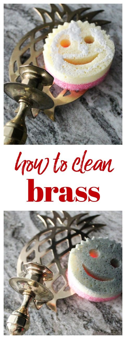 Cleaning Up Vintage Brass | How to Clean Brass | How to Clean Brass Remove Tarnish | How to Remove Tarnish from Gold and Brass (ad) #CleanWithASmile #ScrubDaddy