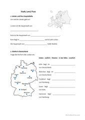 Berlin Arbeitsblatt - Kostenlose DAF Arbeitsblätter