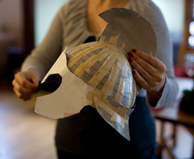 Athena Costume Pattern | DIY Athena Costume Part 1: The Helmet | DIY Del Ray