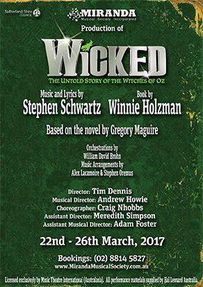 Wicked Miranda 22nd-26th March