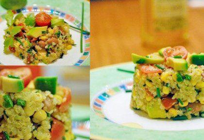 Mexikói quinoa saláta   NOSALTY – receptek képekkel