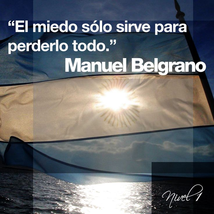 Poacer: Manuel Belgrano (creador de la bandera Argentina), Argentina