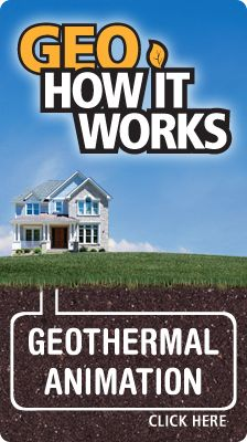 Geothermal heating system. Needs electricity to run but not much. wonder if solar and wind could run this system?