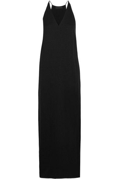 The Row - Nahel Crepe Maxi Dress - Black - US10