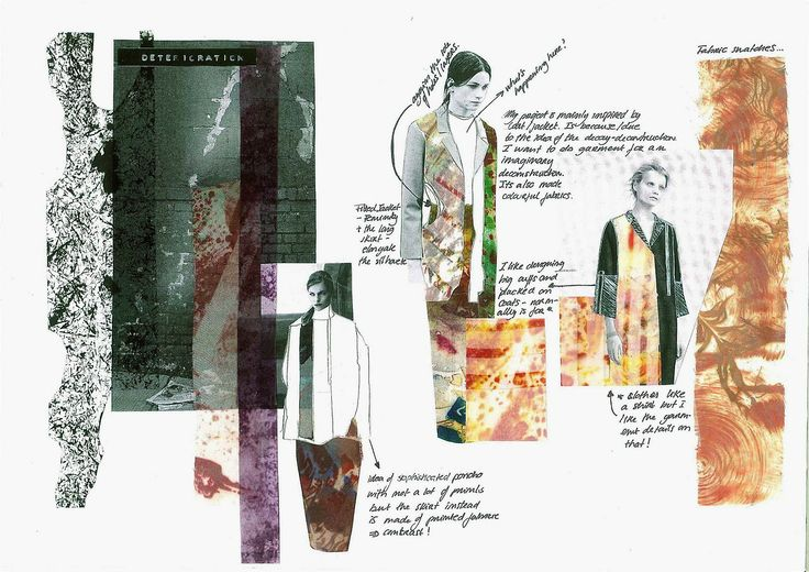 DECAYBA Fashion (Year 1), Central Saint Martins adele Cecilia i like the use of collage and drawing combined i think it works well. used images and pencil. http://cecilia-adade.tumblr.com/