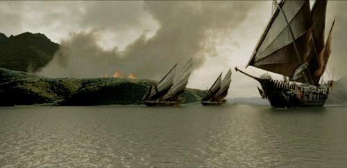 Umbari kalózhajók (eredeti: Umbari kalózhajók - jelenet A Gyűrűk Ura: A Király visszatér c. filmből)