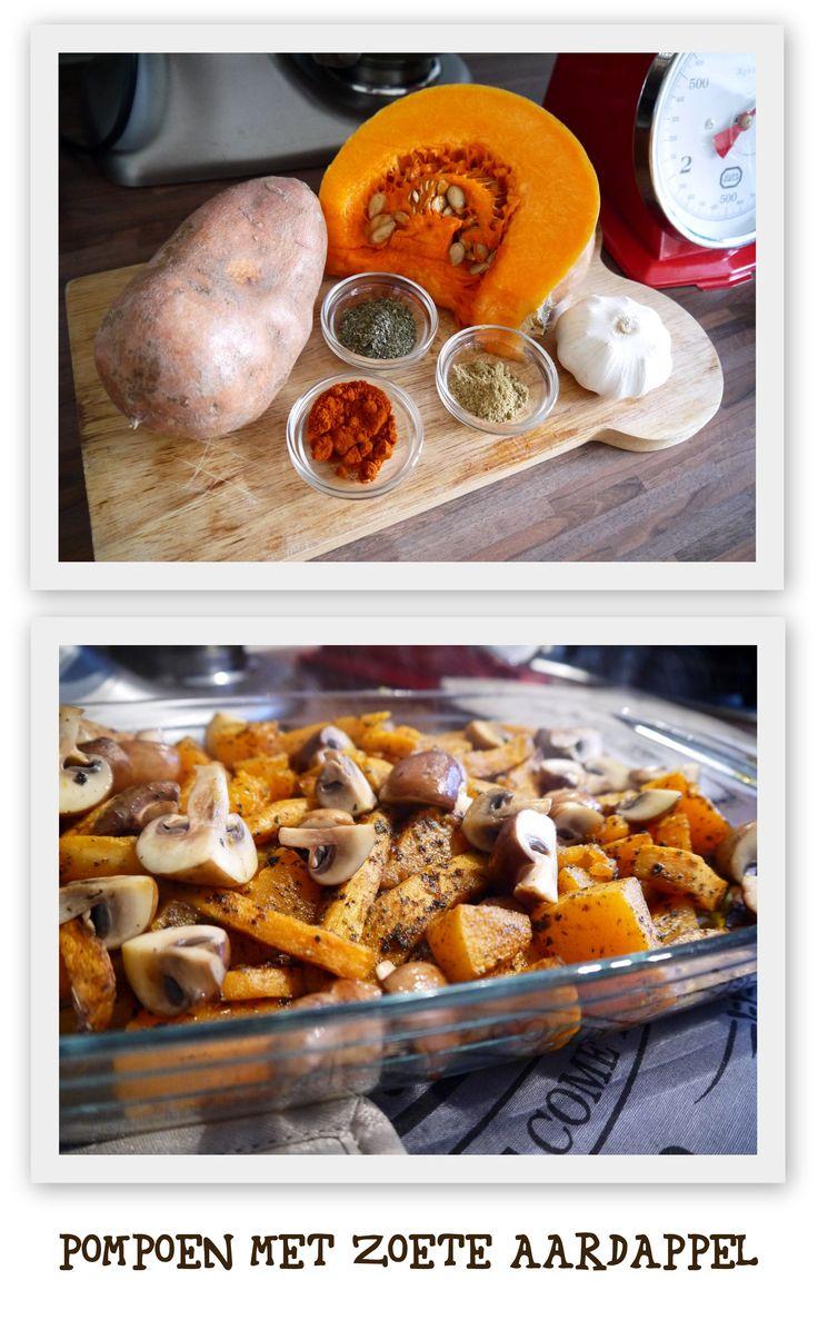 Eenvoudig recept: pompoen met zoete aardappel