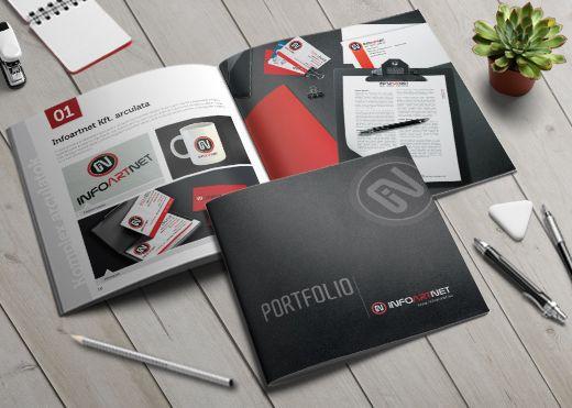 Az Infoartnet portfóliója, melyben a referenciáinkat mutatjuk be. #infoartnet, #mockup, #design, #cégarculat, #corporate identity
