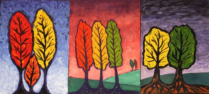 Школа медитативной живописи и графики Д. Рыбина