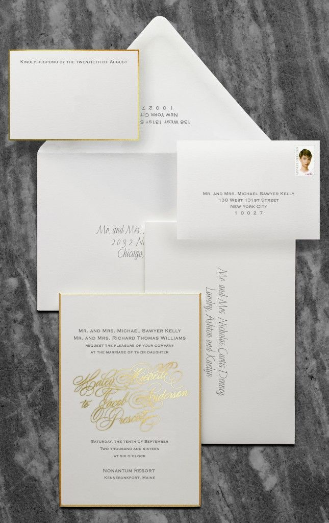 RSVP reply card etiquette