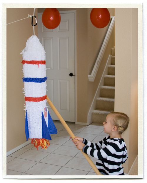 Rocket Ship Party city. Got this for my sons 4th birthday in a couple of weeks