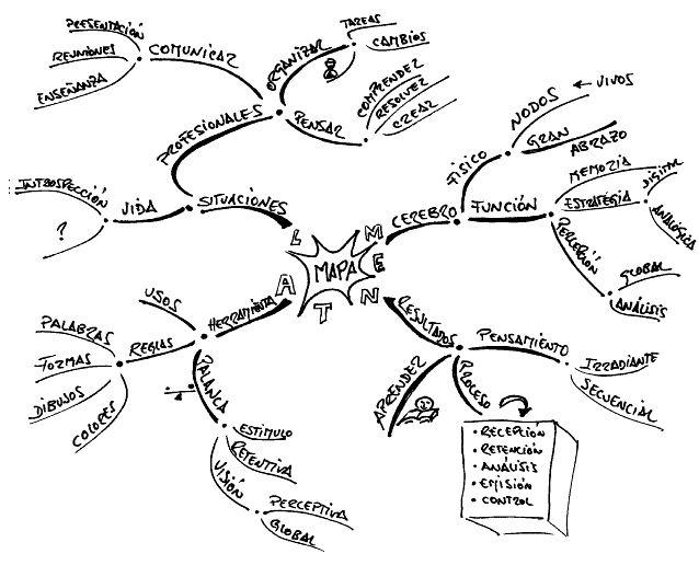 Técnicas de desarrollo de la Creatividad: Mapas Mentales - Inevery Crea