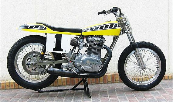 Ex-Kenny Roberts Yamaha XS 650 Dirt Track Racer